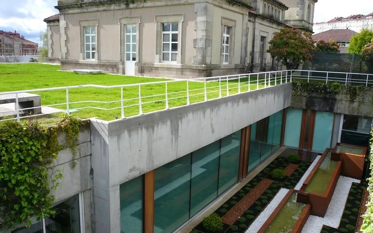 Exteriores Concello Santiago de Compostela